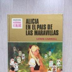 Tebeos: ALICIA EN EL PAIS DE LAS MARAVILLAS DE LEWIS CARROLL, ILUSTRACIONES DE TRINI TINTURÉ. Lote 189290342