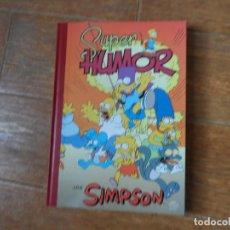 Tebeos: SUPER HUMOR SIMPSON TOMO 1. EDICIONES B TAPA DURA. Lote 189294275