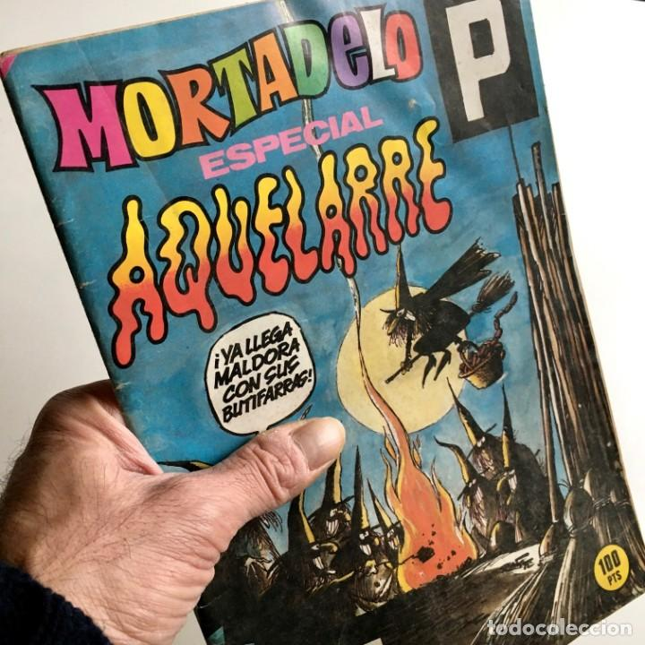 REVISTA DE CÓMICS MORTADELO, ESPECIAL AQUELARRE, Nº 152, EDITORIAL BRUGUERA, AÑO 1983 (Tebeos y Comics - Bruguera - Mortadelo)