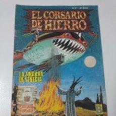 Tebeos: EL CORSARIO DE HIERRO NÚMERO 37 EDICIÓN HISTÓRICA 1989. Lote 189296156