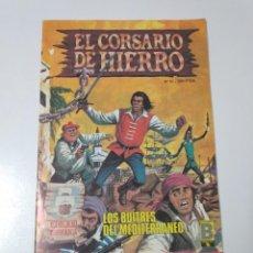 Tebeos: EL CORSARIO DE HIERRO NÚMERO 51 EDICIÓN HISTÓRICA 1989. Lote 189296616