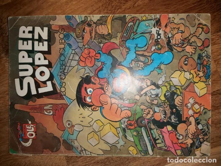 LOS CABECICUBOS. SUPERLOPEZ N°7. OLE SUPER LOPEZ (Tebeos y Comics - Bruguera - Ole)