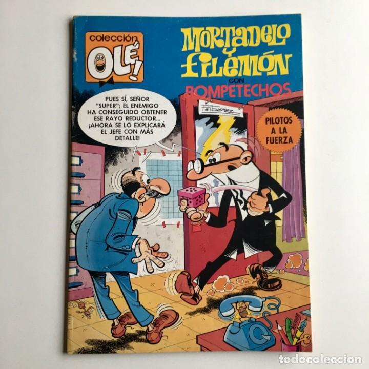 Tebeos: Revista de cómics MORTADELO, colección OLÉ, nº 191, con ROMPETECHOS, Bruguera, 2ª edición, año 1982 - Foto 2 - 189306157