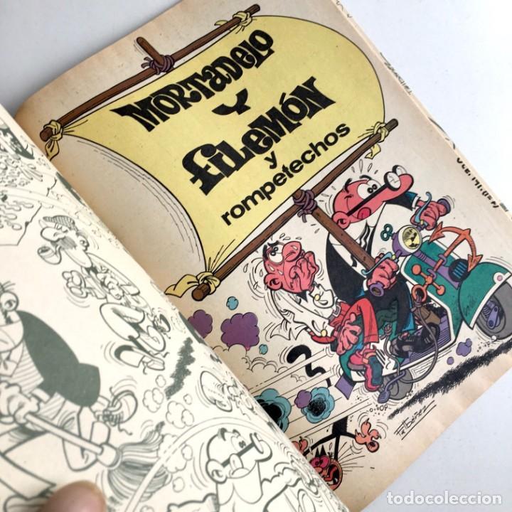 Tebeos: Revista de cómics MORTADELO, colección OLÉ, nº 191, con ROMPETECHOS, Bruguera, 2ª edición, año 1982 - Foto 3 - 189306157