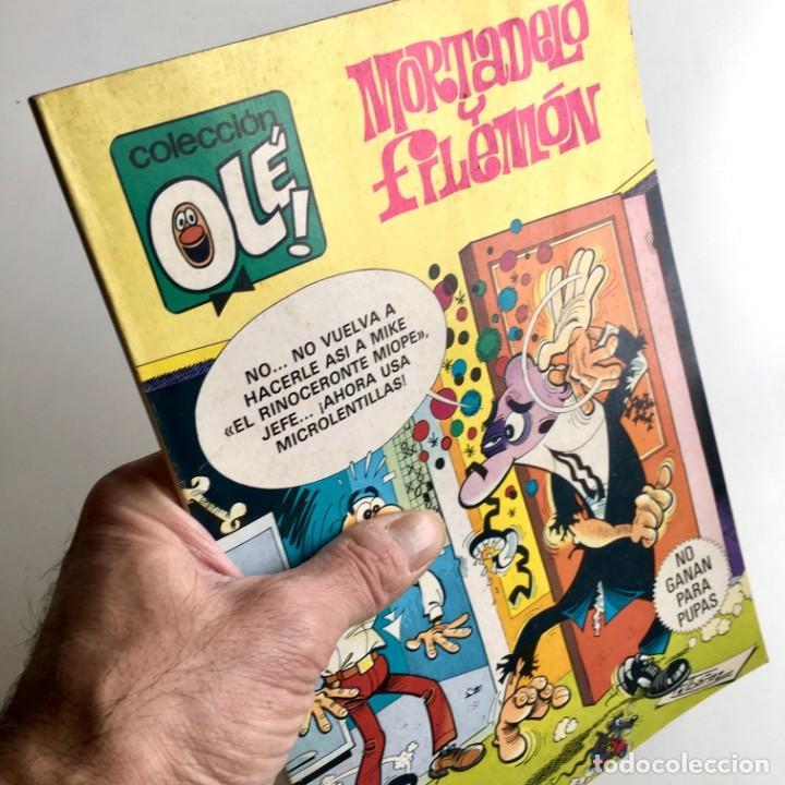 REVISTA DE CÓMICS MORTADELO COLECCIÓN OLÉ, Nº 212, NO GANAN PARA PUPAS, 1ª EDICIÓN, AÑO 1981 (Tebeos y Comics - Bruguera - Mortadelo)