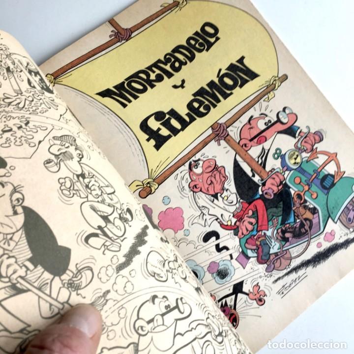 Tebeos: Revista de cómics MORTADELO colección OLÉ, nº 212, NO GANAN PARA PUPAS, 1ª edición, año 1981 - Foto 3 - 189306876