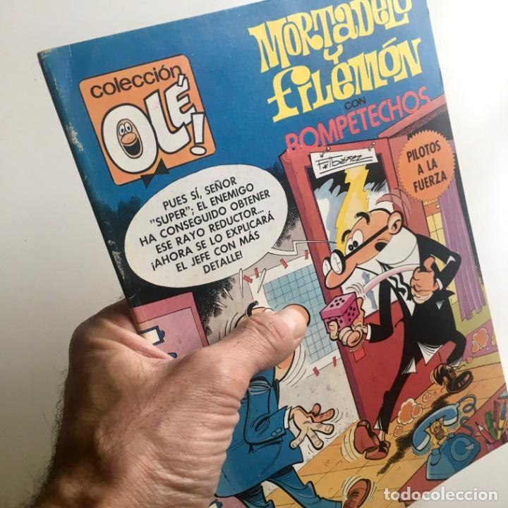 REVISTA DE CÓMICS MORTADELO, COLECCIÓN OLÉ, Nº 191, CON ROMPETECHOS, BRUGUERA, 2ª EDICIÓN, AÑO 1982 (Tebeos y Comics - Bruguera - Mortadelo)