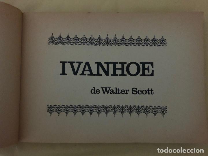 Tebeos: IVANHOE y ENTRE APACHES Y COMANCHES (cómic, libro) - Foto 2 - 189316993