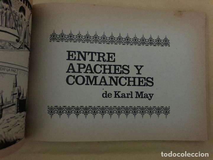 Tebeos: IVANHOE y ENTRE APACHES Y COMANCHES (cómic, libro) - Foto 3 - 189316993