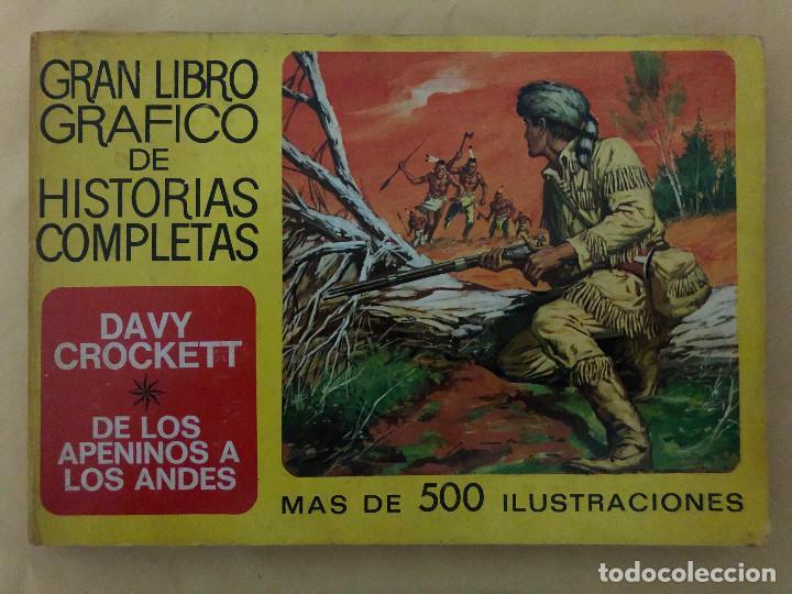 DAVY CROCKETT Y DE LOS APENINOS A LOS ANDES (CÓMIC, LIBRO) (Tebeos y Comics - Bruguera - Otros)
