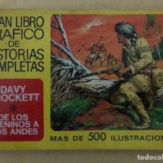 Tebeos: DAVY CROCKETT Y DE LOS APENINOS A LOS ANDES (CÓMIC, LIBRO). Lote 189317616