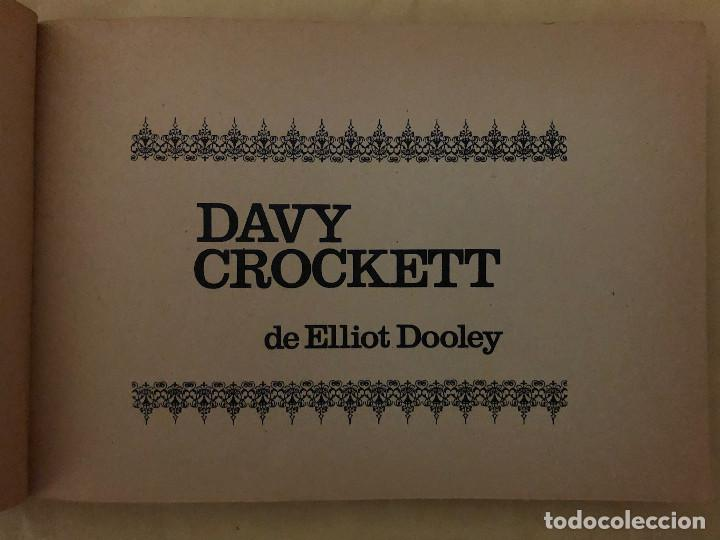 Tebeos: DAVY CROCKETT y DE LOS APENINOS A LOS ANDES (cómic, libro) - Foto 2 - 189317616