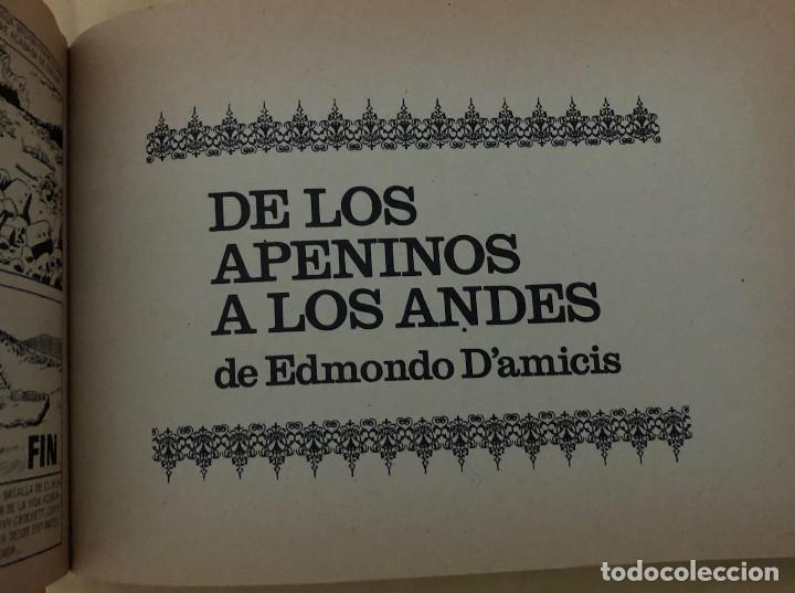 Tebeos: DAVY CROCKETT y DE LOS APENINOS A LOS ANDES (cómic, libro) - Foto 3 - 189317616