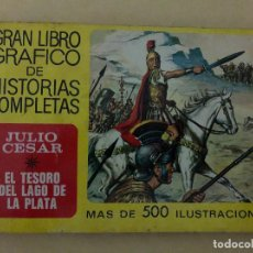 Tebeos: JULIO CESAR Y EL TESORO DEL LAGO DE PLATA (CÓMIC, LIBRO). Lote 189317943