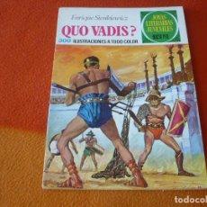Livros de Banda Desenhada: JOYAS LITERARIAS JUVENILES Nº 14 QUO VADIS? 15 PTS 1971 1ª EDICION ¡BUEN ESTADO! BRUGUERA. Lote 189391461
