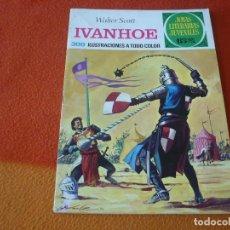 Livros de Banda Desenhada: JOYAS LITERARIAS JUVENILES Nº 16 IVANHOE 15 PTS 1971 1ª EDICION ¡BUEN ESTADO! BRUGUERA. Lote 189391777