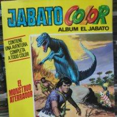Tebeos: JABATO COLOR ÁLBUM EL JABATO EL MONSTRUO ATERRADOR 10. Lote 189400022