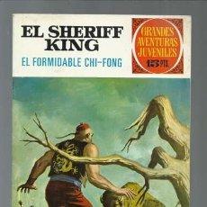 Tebeos: EL SHERIFF KING: EL FORMIDABLE CHI_FONG, 1972, BRUGUERA, PRIMERA EDICIÓN, MUY BUEN ESTADO. Lote 189407888