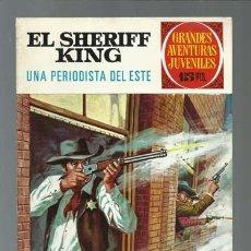Tebeos: EL SHERIFF KING: UNA PEDIODISTA DEL ESTE, 1972, BRUGUERA, PRIMERA EDICIÓN, MUY BUEN ESTADO. Lote 189408182