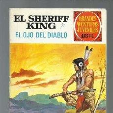 Tebeos: EL SHERIFF KING: EL OJO DEL DIABLO, 1973, BRUGUERA, PRIMERA EDICIÓN, BUEN ESTADO. Lote 189408778