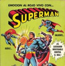 Tebeos: SUPERMAN ÁLBUM - EDITORIAL BRUGUERA / NUMERO 1. Lote 189412040