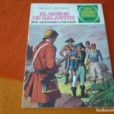 Livros de Banda Desenhada: JOYAS LITERARIAS JUVENILES Nº 20 EL SEÑOR DE BALANTRY 15 PTS 1971 1ª EDICION ¡BUEN ESTADO! BRUGUERA. Lote 189420041