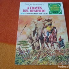 Livros de Banda Desenhada: JOYAS LITERARIAS JUVENILES Nº 22 A TRAVES DEL DESIERTO 15 PTS 1971 1ª EDICION ¡BUEN ESTADO! BRUGUERA. Lote 189420260