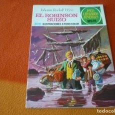 Livros de Banda Desenhada: JOYAS LITERARIAS JUVENILES Nº 23 EL ROBINSON SUIZO 15 PTS 1971 1ª EDICION ¡BUEN ESTADO! BRUGUERA. Lote 189420351