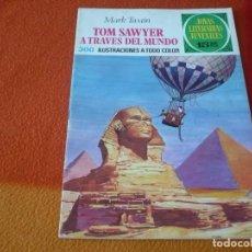 Livros de Banda Desenhada: JOYAS LITERARIAS JUVENILES Nº 24 TOM SAWYER A TRAVES DEL MUNDO 15 PTS 1971 1ª EDICION BRUGUERA. Lote 189420383