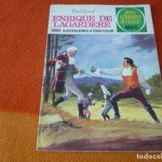 Tebeos: JOYAS LITERARIAS JUVENILES Nº 27 ENRIQUE DE LAGARDERE 15 PTS 1971 1ª EDICION ¡BUEN ESTADO! BRUGUERA. Lote 189420671