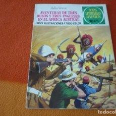 Livros de Banda Desenhada: JOYAS LITERARIAS JUVENILES Nº 28 AVENTURAS DE TRES RUSOS Y INGLESES 15 PTS 1971 1ª EDICION BRUGUERA. Lote 189420791