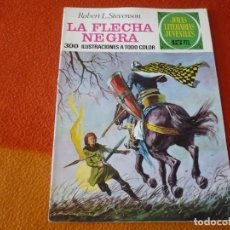 Tebeos: JOYAS LITERARIAS JUVENILES Nº 48 LA FLECHA NEGRA 15 PTS 1972 1ª EDICION ¡BUEN ESTADO! BRUGUERA. Lote 189437691