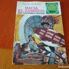 Tebeos: JOYAS LITERARIAS JUVENILES Nº 49 HACIA EL ZAMBESI 15 PTS 1972 1ª EDICION ¡BUEN ESTADO! BRUGUERA. Lote 189437787