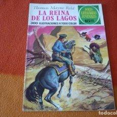 Tebeos: JOYAS LITERARIAS JUVENILES Nº 61 LA REINA DE LOS LAGOS 15 PTS 1972 ¡BUEN ESTADO! BRUGUERA. Lote 189507463