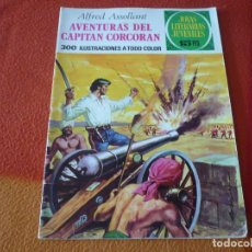 Tebeos: JOYAS LITERARIAS JUVENILES Nº 80 AVENTURAS DEL CAPITAN CORCORAN 15 PTS 1973 BRUGUERA. Lote 189534967