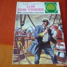 Tebeos: JOYAS LITERARIAS JUVENILES Nº 81 LOS DOS TIGRES 15 PTS 1973 1ª EDICION BRUGUERA. Lote 189535100