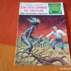 Tebeos: JOYAS LITERARIAS JUVENILES Nº 85 LOS PESCADORES DE TREPANG 15 PTS 1973 1ª EDICION BRUGUERA. Lote 189536015