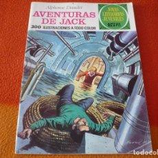 Tebeos: JOYAS LITERARIAS JUVENILES Nº 89 AVENTURAS DE JACK 15 PTS 1973 1ª EDICION BRUGUERA. Lote 189536668