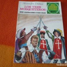 Livros de Banda Desenhada: JOYAS LITERARIAS JUVENILES Nº 96 LOS TRES MOSQUETEROS 15 PTS 1974 1ª EDICION BRUGUERA. Lote 189537071