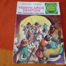 Livros de Banda Desenhada: JOYAS LITERARIAS JUVENILES Nº 97 VEINTE AÑOS DESPUES 15 PTS 1974 1ª EDICION BRUGUERA. Lote 189537128
