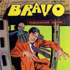 Tebeos: BRAVO Nº 48 -INSPECTOR DAN- Nº 20 -EL MUNDO DE LAS SOMBRAS-NOTABLE RUIZ PUEYO-1976-LEAN-2650. Lote 189538813
