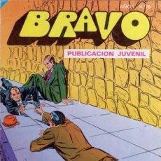 Tebeos: BRAVO- Nº 76-INSPECTOR DAN- Nº 38 -1976 -LA RUTA DE LAS TINIEBLAS-GRAN CLÁSICO-DIFÍCIL-CORRECTO-2651. Lote 189539606