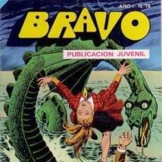 Tebeos: BRAVO- Nº 78-INSPECTOR DAN- Nº 39 -1976 -SUPLANTACIÓN-GRAN JULIO VIVAS-CLÁSICO-DIFÍCIL-BUENO-2652. Lote 189540161