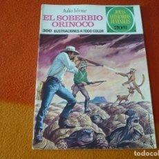 Tebeos: JOYAS LITERARIAS JUVENILES Nº 129 EL SOBERBIO ORINOCO 20 PTS 1975 1ª EDICION BRUGUERA. Lote 189606650