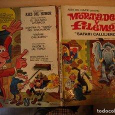 Tebeos: ASES DEL HUMOR - MORTADELO Y FILEMON - NÚMERO 3 - TAPA DURA - BRUGUERA - AÑO 1970. Lote 189700518