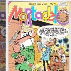 Tebeos: MORTADELO Y FILEMON AÑO XV-1985-Nº232. Lote 189758077