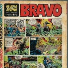 Tebeos: REVISTA BRAVO Nº 31 - BRUGUERA 1968 - ULTIMOS NUMEROS - MUY DIFICIL - BIEN CONSERVADA. Lote 189963071