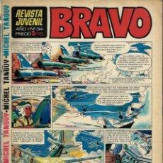 Tebeos: REVISTA BRAVO Nº 34 - BRUGUERA 1968 - ULTIMOS NUMEROS - MUY DIFICIL - PROCEDE DE ENCUADERNACION. Lote 189963343