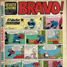 Tebeos: REVISTA BRAVO Nº 37 - BRUGUERA 1968 - ULTIMOS NUMEROS - MUY DIFICIL - BIEN CONSERVADA. Lote 189963480