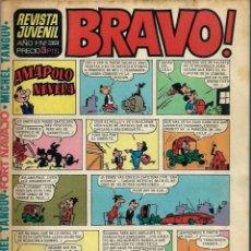 Tebeos: REVISTA BRAVO Nº 39 - BRUGUERA 1968 - ULTIMOS NUMEROS - MUY DIFICIL - BIEN CONSERVADA. Lote 189963673